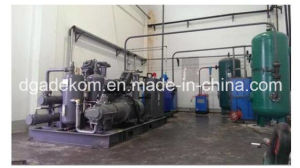 Portable Oil Free High Pressure Screw Piston Air Compressor (KSP37/30-40) pictures & photos