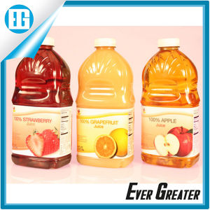 Wholesale Waterproof PVC Packaging Juice Fruit Bottle Label pictures & photos