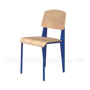 Factory Price Jean Prouve Standard Wooden Restaurant Chair (SP-BC336) pictures & photos