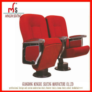 Aluminum Alloy Auditorium Seating with Writing Pad (Ms-532)