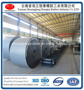 Excellent Chevron/Cleated/Profile Rubber Conveyor Belt