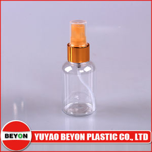 Empty 50ml Clear Transparent Plastic Spray Bottle for Cosmetic Packaging