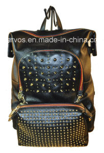 Fashion Ladies′ Leather Backpack (M10496)