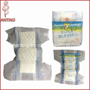Low Price Baby Diaper with Reusable Hook & Loop Tape pictures & photos