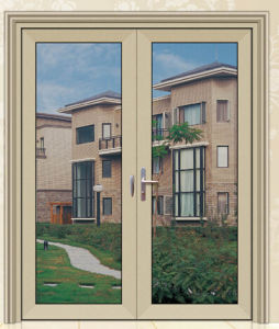 Aluminum Price of Glass Double Hung Open Windows