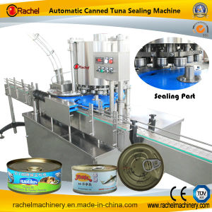 Automatic Canned Tuna Sealing Machine pictures & photos
