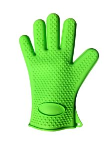 Kitchen Cooking Oven Silicone Heat Resistant BBQ Gloves pictures & photos