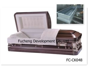 High Quality Competitive Price Poplar Casket (FC-CK048)