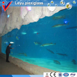 Arched Acrylic Glass for Aquarium