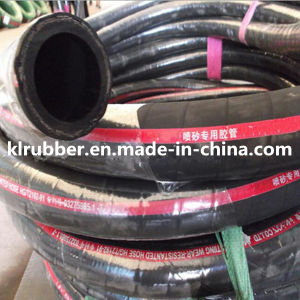 SBR Abrasive Rubber Sandblast Hose with SGS Certification pictures & photos