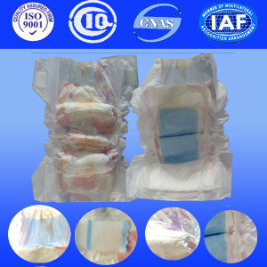 Certified Dispsaoble Cheap Baby Diaper with Breathable Gentle Tape pictures & photos