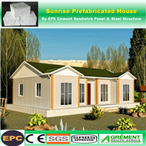 China Permanent Living Concrete Wall Prefab Prefabricated House Kit