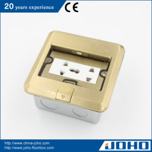 Multimedia Floor Mounted Socket Ground Outlet Box