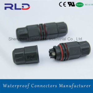 Quick Lock Movable Waterproof Cable Connectors for LED Lighting