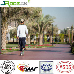 13 mm Aging Resistance Lakeside Jogging Track Athletic Track From China pictures & photos