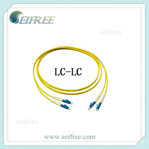 LC-LC Duplex 2mm Fibre Optical Patchcord Cable pictures & photos