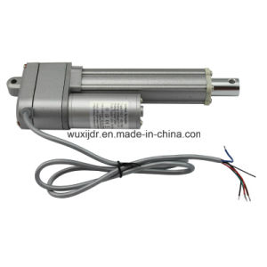 Mini Electric Actuator Dc 12 Volt Or 24 Ip65 Ce Certification With Potentiometer Fy017