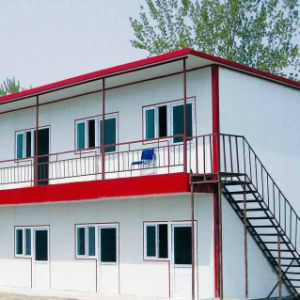 New Design of EPS Cement Board Prefabricated House