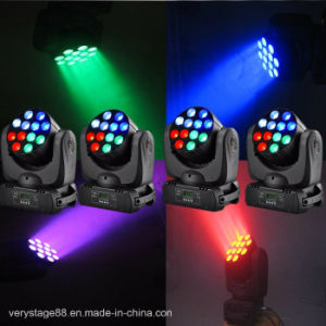Stage Equipment 12X10W CREE Quad LED Beam Moving Head Light pictures & photos