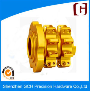 Precision CNC Brass Parts Machining with ISO 9001: 2008 Certified and No Vibration