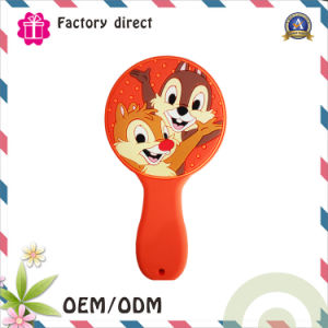 Creative Make up Tool Mickey Shape Pocket Makeup Hand Shake Mirror pictures & photos