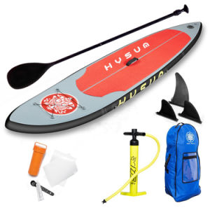PVC Inflatable Best Performance Long Surfboard with Paddle