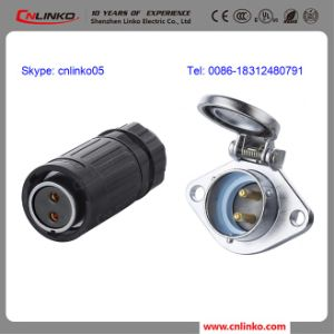CE Approved 20mm IP67 2 Pin Female Waterproof Connector pictures & photos