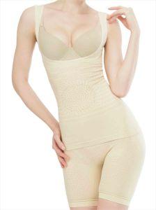 9fcd30c19 Seamless Far Infrared Tourmaline Slimming Suit Shapewear Body Shaper  Bodysuit
