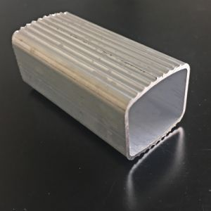 Aluminum Extrusion/Extruded Aluminium Profile with Side Curves pictures & photos