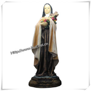 Polyresin Religious Maria with Baby Jesus Christ Statue (IO-ca027) pictures & photos