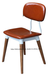 Classic Dining Restaurant Upholstered Walnut Copine Sean Dix Chair pictures & photos