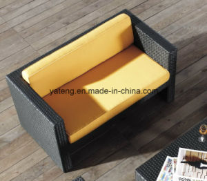 Outdoor Furniture modern Sofa UV-Resistant PE Rattan Rattan Furniture Sofa (YT195) pictures & photos
