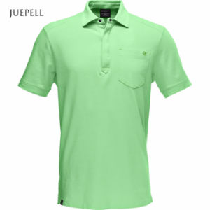 Olive Color Cotton Sports Men Polo Shirt pictures & photos