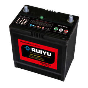 China Mf Battery Type And 12v Voltage Maintenance Free Car Battery