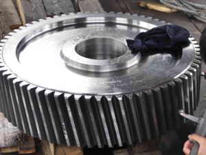 Casted SAE1045 Steel Bevel Gear Pinion Gear pictures & photos
