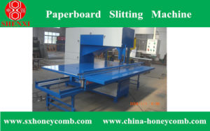 Honeycomb Paperboard Slitting Machine pictures & photos