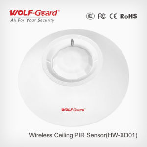Wireless/Wired PIR Ceiling-Mounted Sensor Detector Can Easily Be Installed on Ceilings pictures & photos