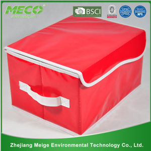 Colorful Non Woven Cloth Foldable Storage Boxes Decorative Cardboard Storage Box (MECO418) pictures & photos