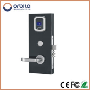 High Standard Electronic Hotel Lock with LED, Fashional RFID Door Lock Five Star Hotel Lock pictures & photos