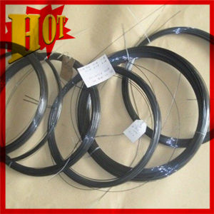 Pure Tungsten Wolfram Black Wire in Coil pictures & photos