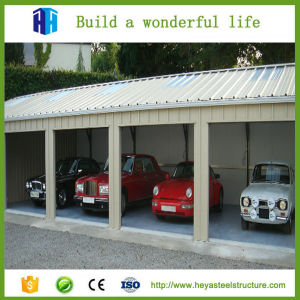 Prefabricated Steel Structure Building Car Garage Cabinets Materials