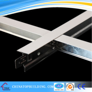 White Flat Ceiling T Grid/Ceiling T Bar 32*24*0.3*3600mm/Ceiling T Bar pictures & photos