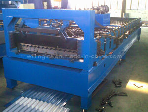 PLC Corrugated Sheet Cold Forming Machine pictures & photos