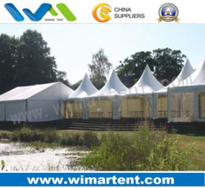 3mx3m White Pagoda Tent Combined Together for Wedding, Party