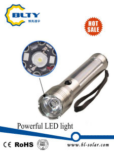Rechargeable Solar Torch with Solar Panel and LED pictures & photos