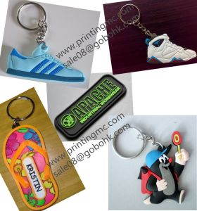 Automatic PVC Keychain Molding Injection Machine Double Side PVC Products pictures & photos