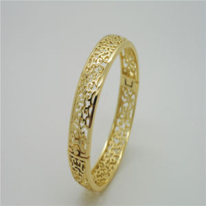 2015 Newest Simple Ellipse Design for Special Bangles (B130026)