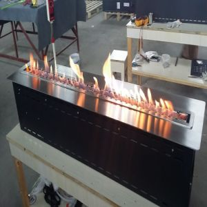 Remote Control Ethanol Real Fire Burner with Size 500mmx250mmx200mm