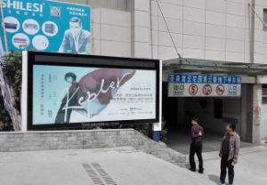 LED Screen Advertising Billboard Outdoor Roadside Scrolling Advertising Light Box pictures & photos