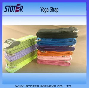 Yoga Accessories Cotton Stretch Straps/High Quality Cotton Yoga Stretch Belt